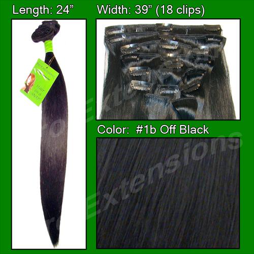 #1b Off Black - 24 inch REMI