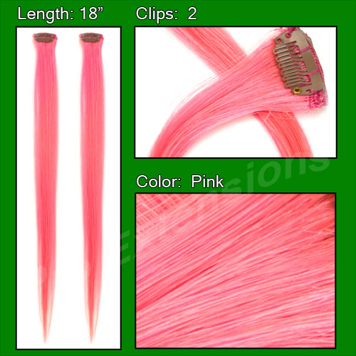 (2 PCS) Pink Highlight Streak Pack