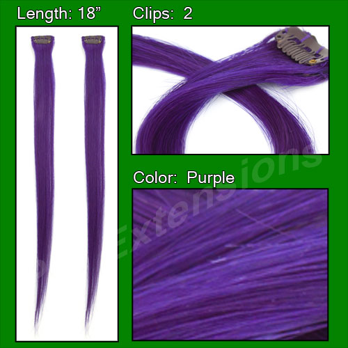 (2 PCS) Purple Highlight Streak Pack