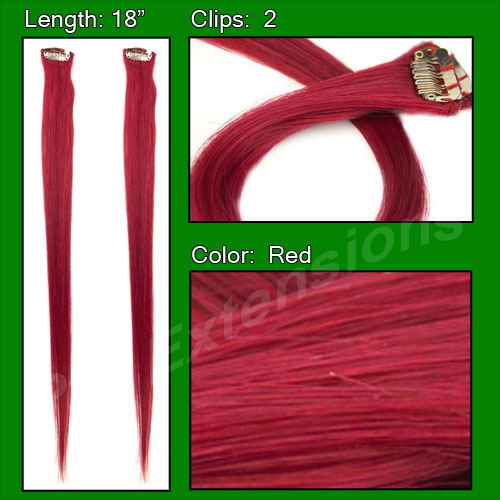 (2 PCS) Red Highlight Streak Pack