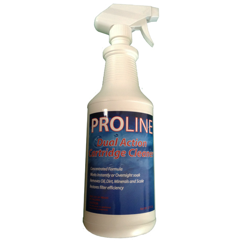 Filter Cleaner, Proline, Dual Action Filter Cartridge Cleaner, 1Qt