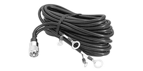 12' RG8X CABLE WITH LUG CONN