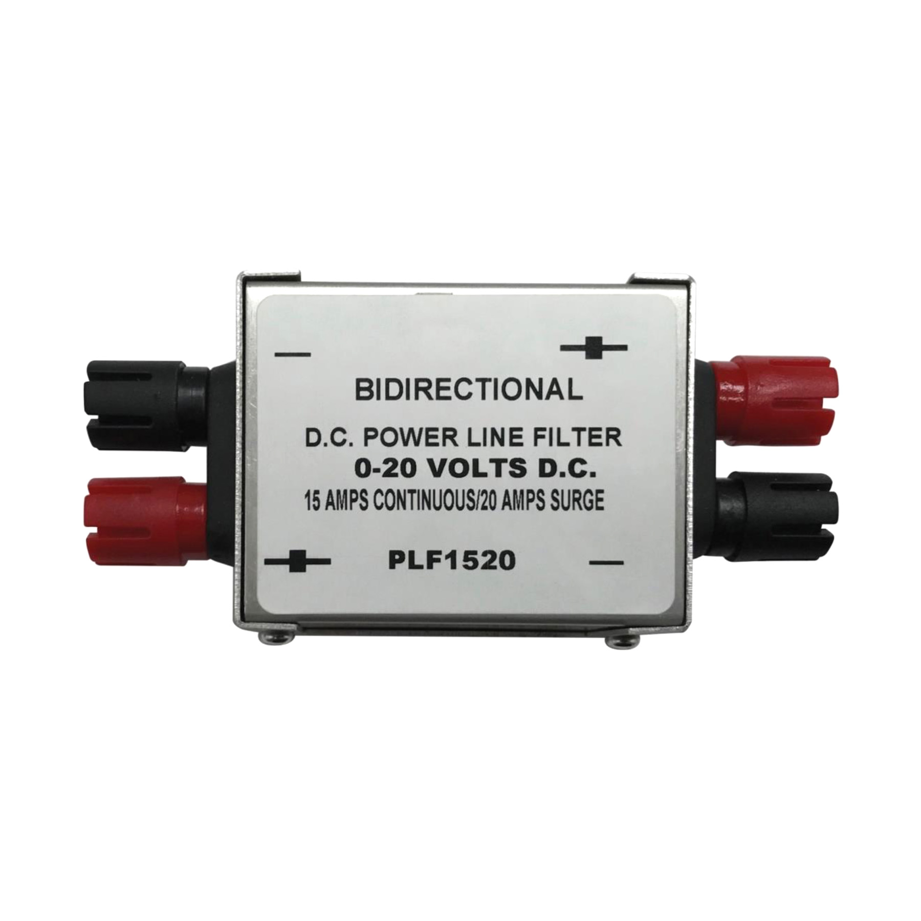 PROCOMM - UNIVERSAL IN-LINE 15 AMP DC POWER NOISE FILTER - FILTERS OUT UN-WANTED LINE NOISE & ELECTRICAL INTERFERENCE