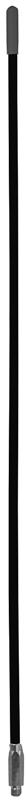 "8'X5/16"" FIBERGLASS WHIP (BLACK)"