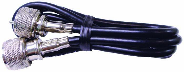 3' COAX W/PL259 CONNECTORS (BULK)
