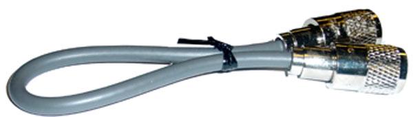 1' RG8X COAX W/PL259'S