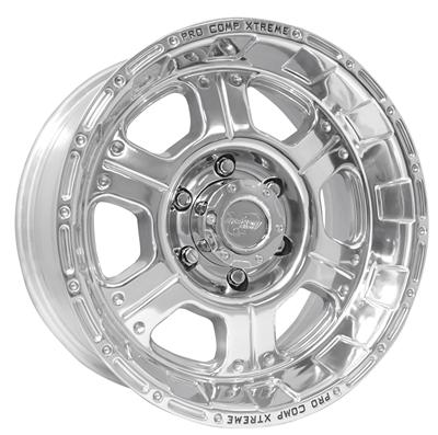 Series 1089, 17x8 with 8 on 6.5 Bolt Pattern - Polished