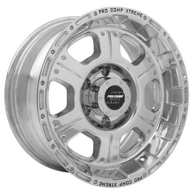 Series 1089, 17x8 with 6 on 5.5 Bolt Pattern - Polished