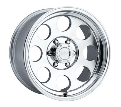 Series 1069, 17x9 with 5 on 5 Bolt Pattern - Polished