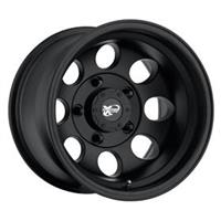 Series 7069, 15x8 with 5 on 4.5 Bolt Pattern - Flat Black