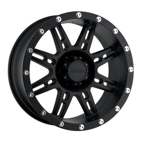Series 7031, 17x9 with 8 on 6.5 Bolt Pattern - Flat Black