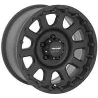 Series 7032, 17x9 with 5 on 5 Bolt Pattern - Flat Black