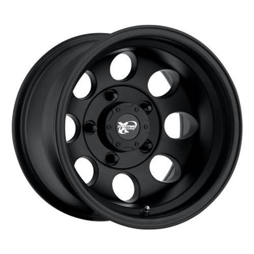 Series 7069, 15x8 with 6 on 5.5 Bolt Pattern - Flat Black Machined