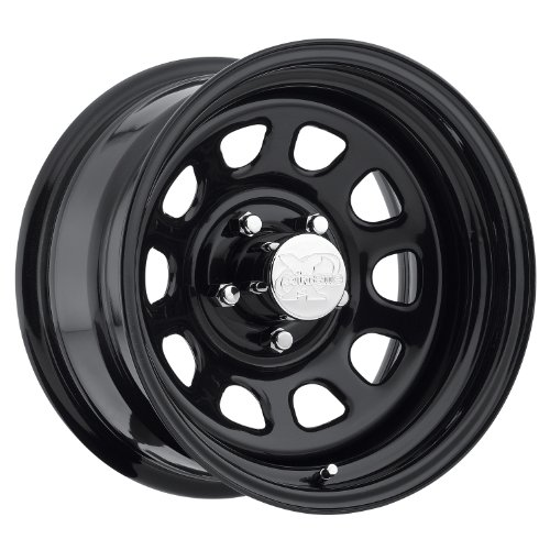 Series 51, 15x8 with 5 on 4.5 Bolt Pattern - Flat Black