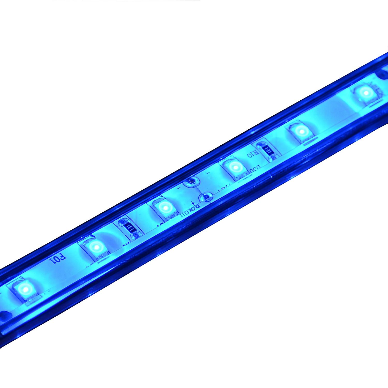 Propel 26.9in Flex Light LED Kit w/ Mounting Track-Blue