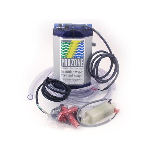 Sanitation System, Prozone, 230v, Hybrid Ozone/Salt Chlorine/Bromine w/Install Kit