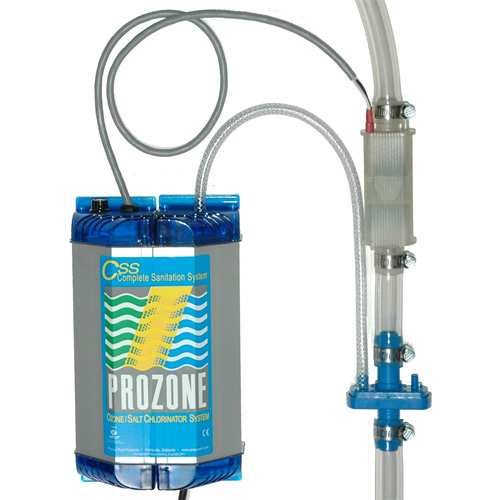 Sanitation System, Prozone, 115v, Hybrid Ozone/Salt Chlorine/Bromine w/Install Kit