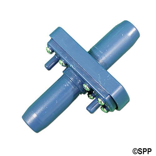Ozone Injector, ABS, Medium Orifice, Blue