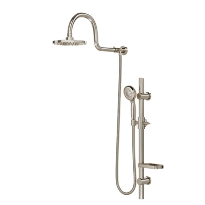 AquaRain Shower System Nickel