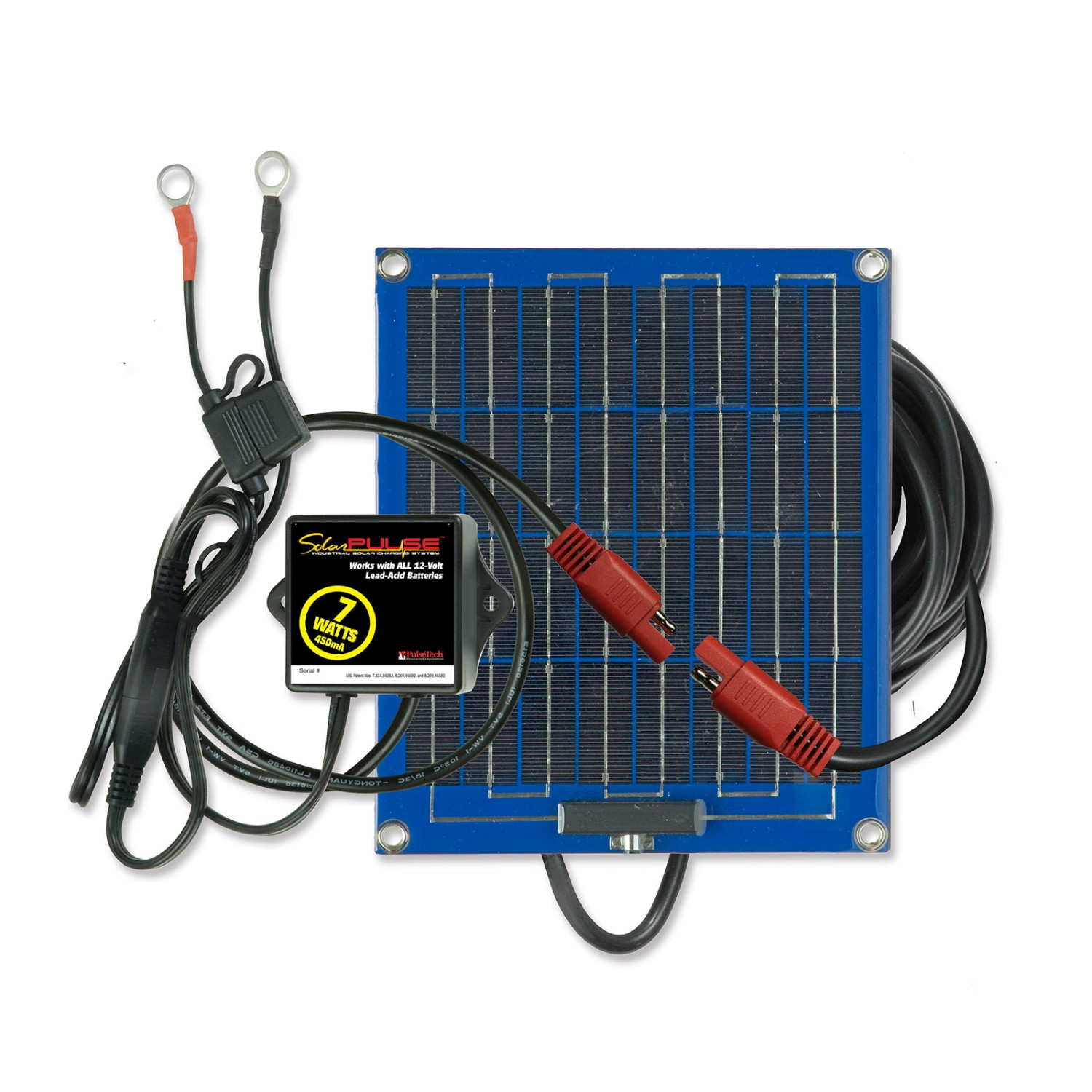 PulseTech SolarPulse SP-7 Solar Battery Charger Maintainer