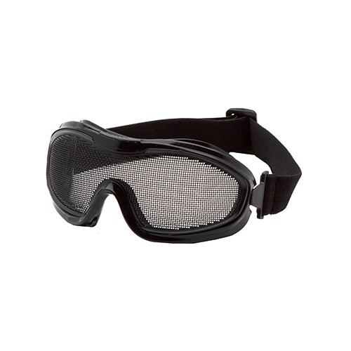 Black Single Wire Mesh Goggle
