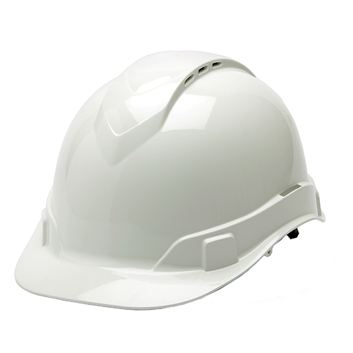 RL Vented Cap Style 4 Pt Ratchet  White