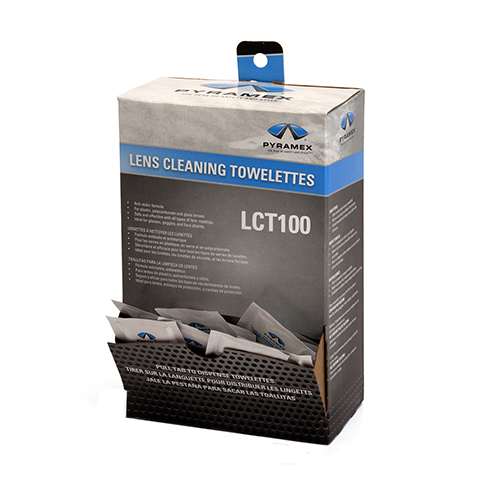 100 Indiv packed Lens Cleaning Towelettes