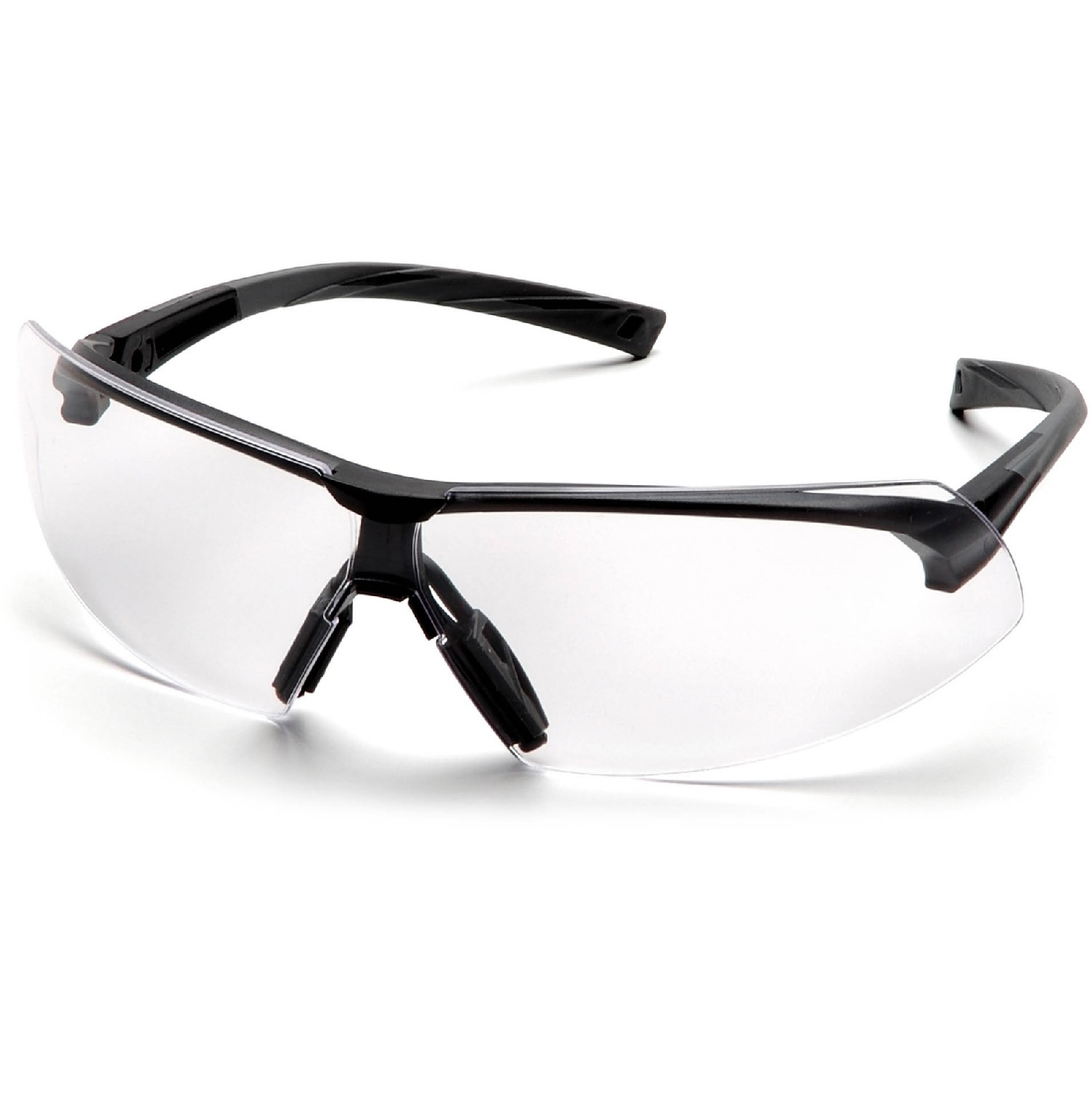 Pyramex Onix Eye Protection Black Frame Clear Lens