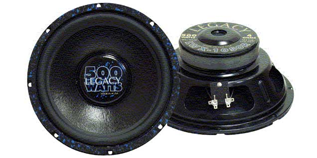 "10"" 300/700 WATTS HIGH PERFORMANCE POLY WOOFER"