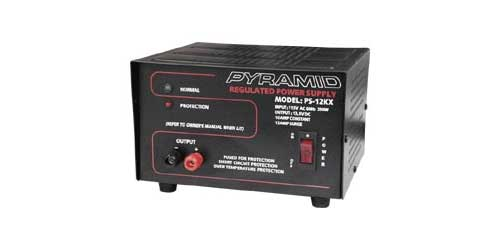 10 AMP CONS/12 AMP SURGE 13.8V PWR SUPPL
