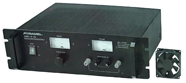 50 AMP POWER SUPPLY W/BUILT IN COOL FAN