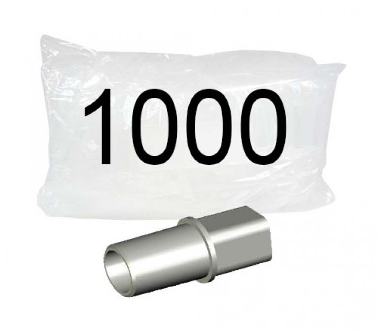AlcoHAWK MouthpieceSlim, Ultra Slim. 1000pk