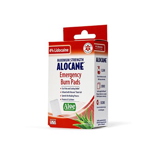 Alocane Burn Pads 10ct