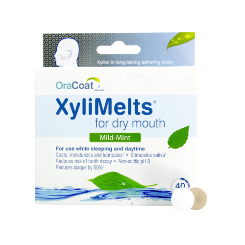 OraCoat XyliMelts Mild Mint, 40ct