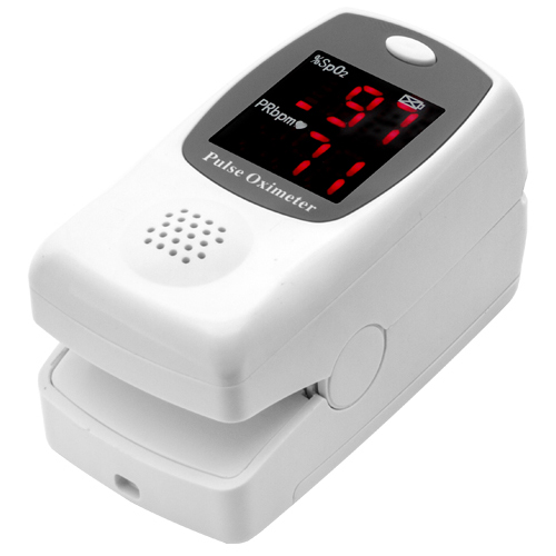 Talking Fingertip Pulse Oximeter