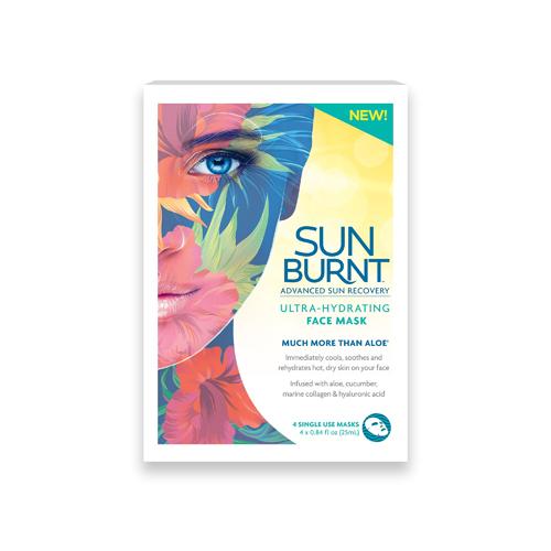 SunBurnt Sunburnt Face Mask 4ct