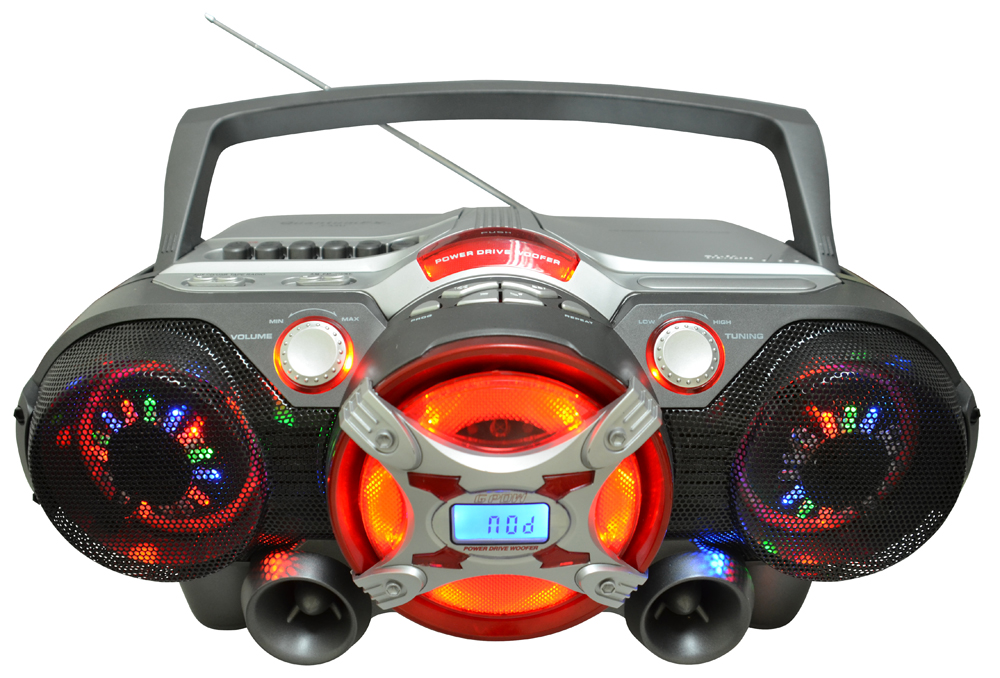 QFX J50U BLUETOOTH JUMBO BOOM BOX WITH REMOTE CONTROL