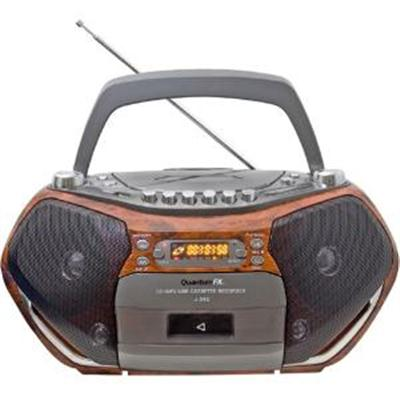 QFX J36 PORTABLE CD BOOMBOX WITH BLUETOOTH