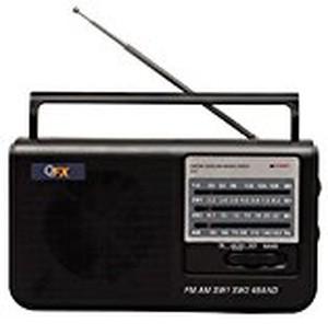 QFX R3 AM/FM/SW1/SW2 4 BAND SHORTWAVE RADIO