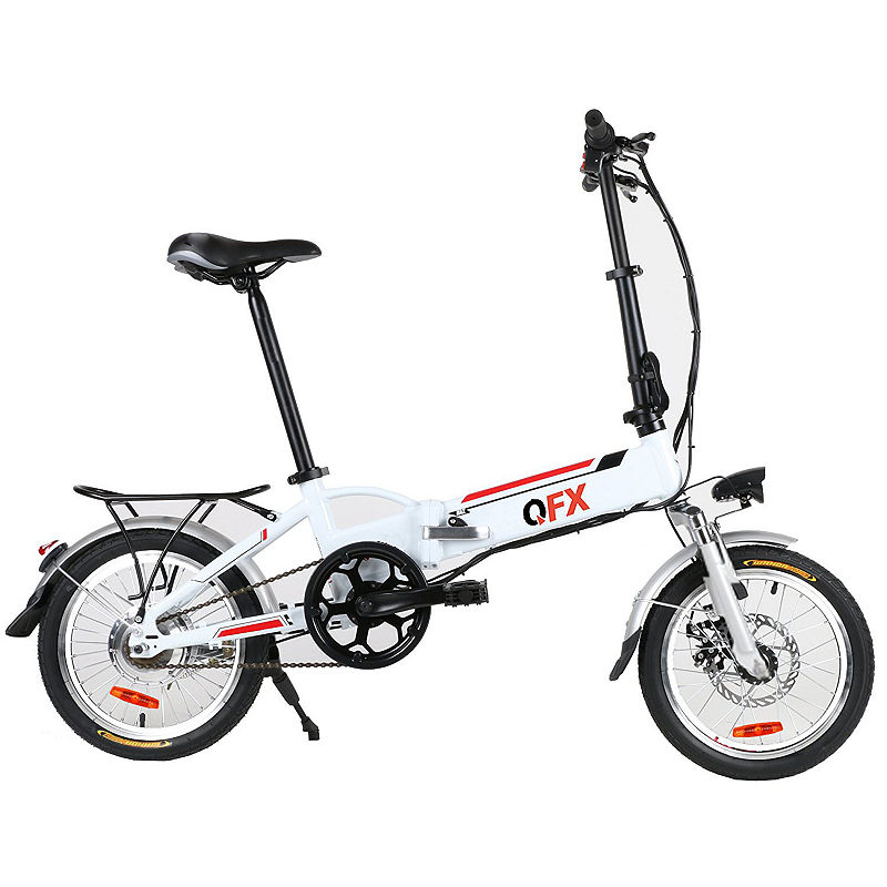 QFX BIK20WHITE WHITE UNFOLD & GO 20IN 250 WATT ELECTRIC BIKE