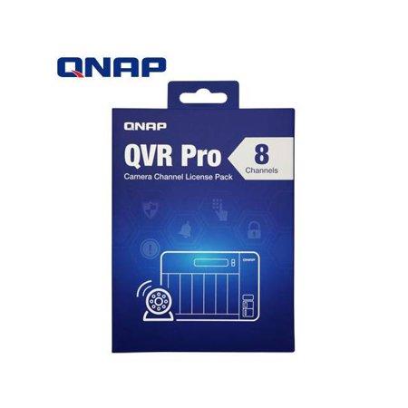 QNAP QVR Pro 8 channel license