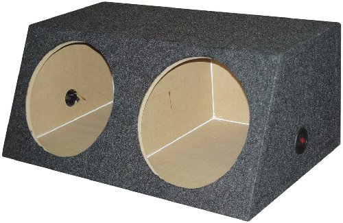 "*BASS15* EMPTY WOOFER BOX QPOWER(2)15""SLOTPORTED*OS2*"