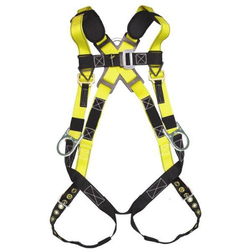 Guardian Fall Protection Seraph Safety Harness With Leg Tongue Buckles, Medium - Large