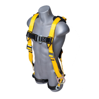 Guardian Fall Protection Seraph Safety Harness With Side D-Rings, X-Large - 2X-Large, 220 - 360 lb