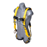 Guardian Fall Protection Seraph Safety Harness With Leg Tongue Buckles, X-Large - 2X-Large