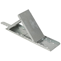 Qualcraft 2525 Adjustable Slater?s Style Roof Bracket, For Use With Any Roof Pitch, 6-Position Platform