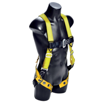 Qualcraft Huv-Tb Universal Velocity Harness With Chest Pass-Thru Buckle and Leg Tongue Buckles, Small, Large