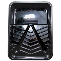 ROLLER TRAY BLCK PLASTIC 9IN