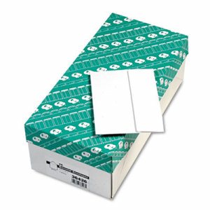 Greeting Card/Invitation Envelope, #6, 4 3/4 x 6 1/2, White, 500/Box