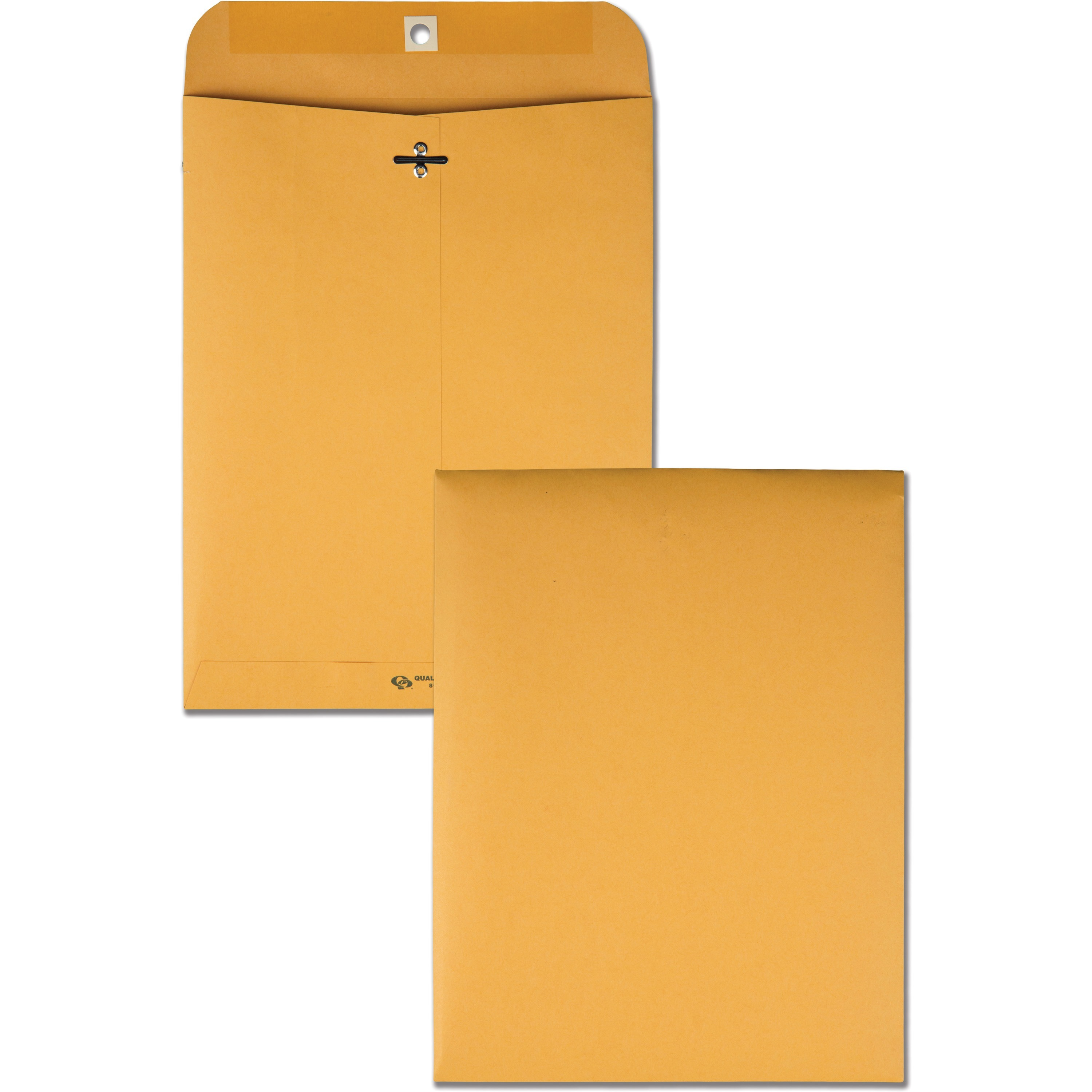 Clasp Envelope, 8 3/4 x 11 1/2, 32lb, Brown Kraft, 100/Box